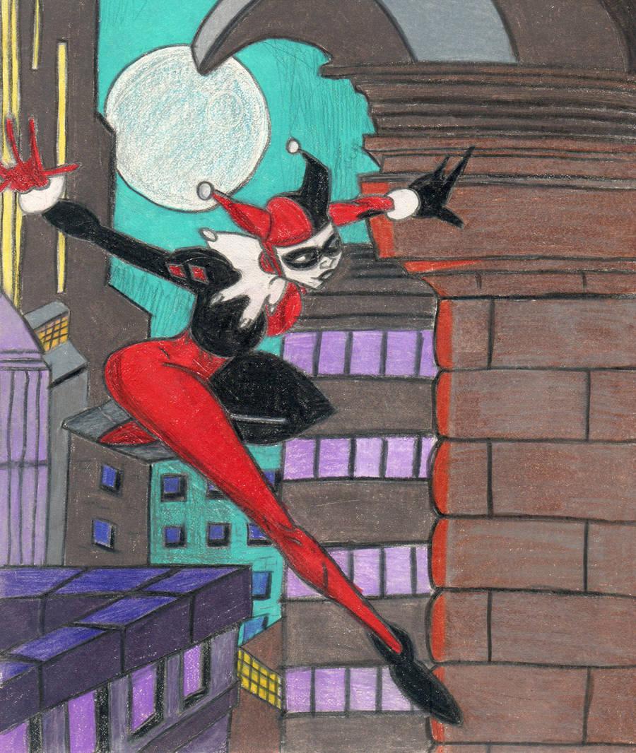 Harley Quinn Mischief by Amara-Anon