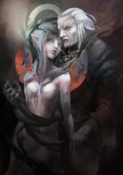 The Witcher by DAggERnoGod
