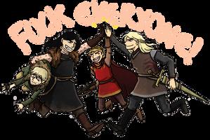 ASOIAF Villain Team up! by Thrumugnyr