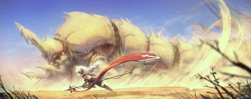 Desert Dragon by Porforever