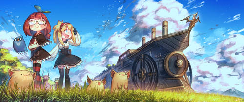 The Steam Dragon Express by Porforever