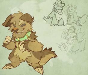 Fat dino tail swag by Samwich