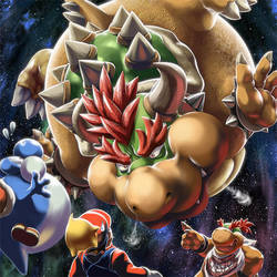 The prologue to Mario Galaxy 3 by MasaBowser