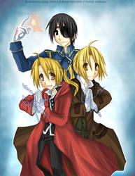 fma movie threesome by Ritsu