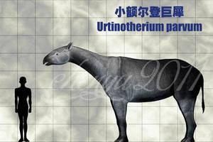 Urtinotherium parvum by sinammonite