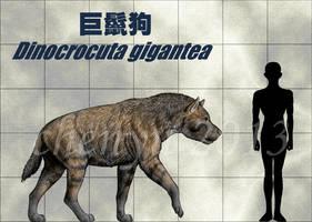 Dinocrocuta gigantea by sinammonite