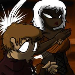 Getting the Joffrey Treatment by SteewpidZombie