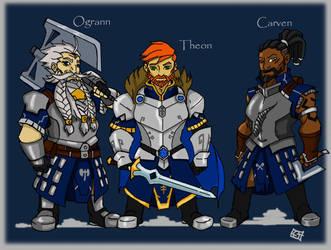 The dwarves of Bannan-Dur by sharksang