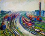 Railway by mary-petroff