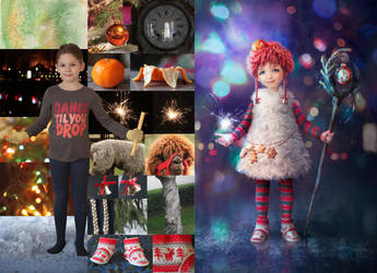 Christmas Spirit Before and After by mary-petroff