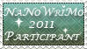 NaNoWriMo 2011 stamp by InLoveWitEdwardC