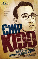 Chip Kidd AAF Poster by gravitydsn