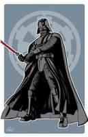Star Wars Darth Vader by gravitydsn