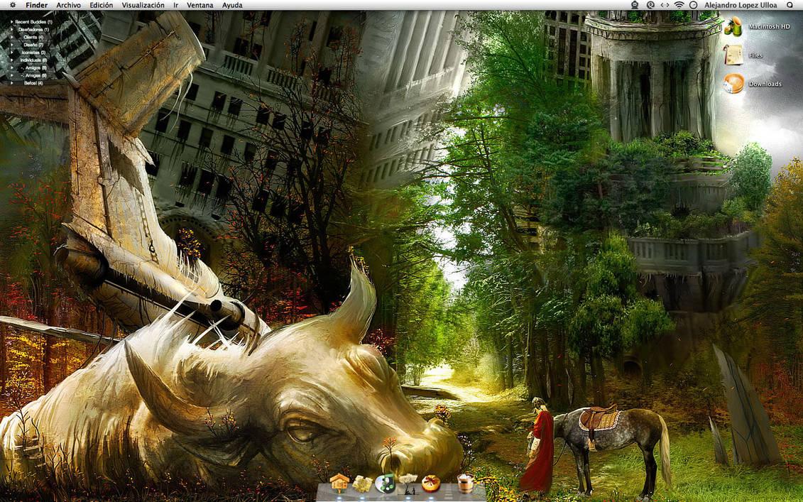 My Mac. by BlueMalboro