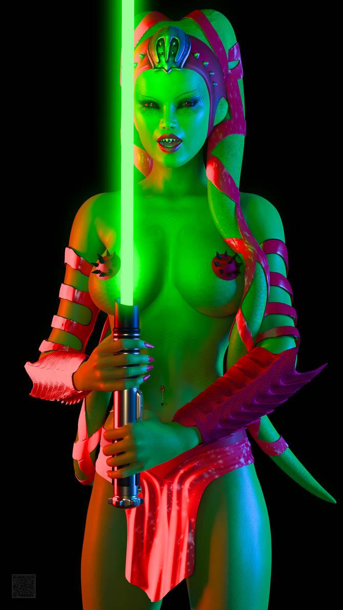 Twi'Lek Jedi 001 by cwichura