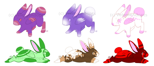 [OPEN] Bunnies 25-30 points by VelenieAdopts