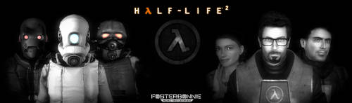 Some Half-Life 2 Artwork I just made by FosterBonnie