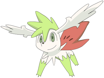 Shaymin Sky Forme by Cat333Pokemon