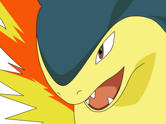 Typhlosion Is All Fired Up by Cat333Pokemon