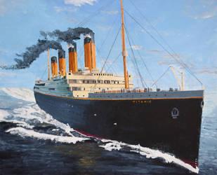 Titanic in Acrylic by UbiquitousUK