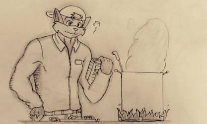 Swat Kats : let's cooking by Cliff-kun