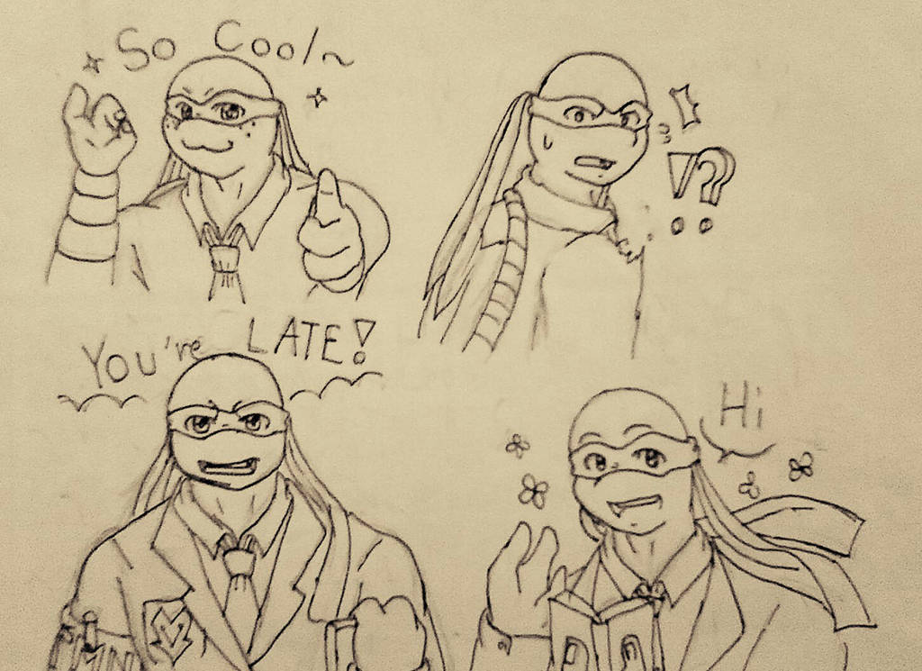 TMNT emotion (1) by Cliff-kun