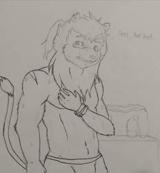 After workout (W.I.P) by Cliff-kun