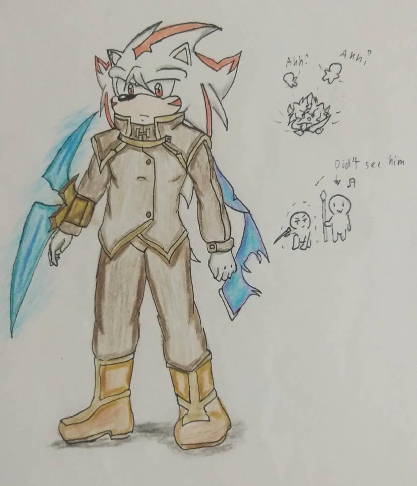 Sonic Oc Quillen by Cliff-kun