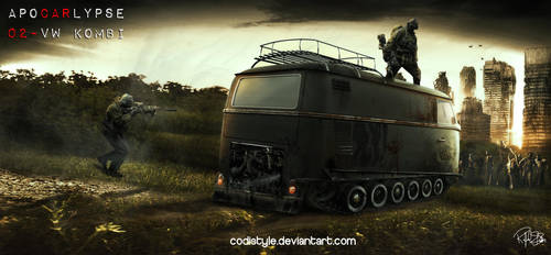 Volkswagen T1 - Kombi by Codistyle