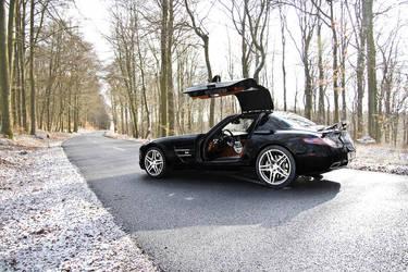 Mercedes SLS AMG by diddylux