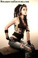 Ellethia in a wide Harness by ByKato