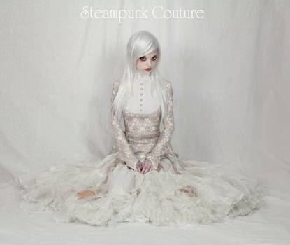 The White Steam Dress by ByKato