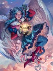 winter magic by LeraStyajkina