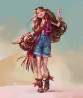 Hippy by LeraStyajkina