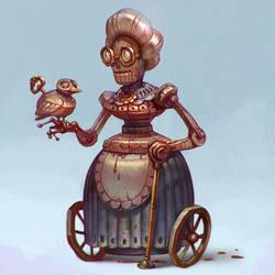 Grangmom robot by LeraStyajkina
