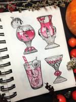 Vampire coctails by LeraStyajkina