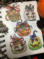 pumpkins by LeraStyajkina