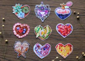 my hearts stickers by LeraStyajkina