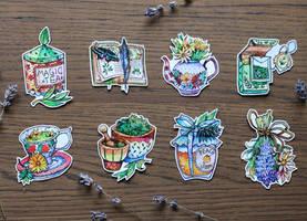 Tea set  by LeraStyajkina