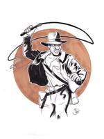 Indiana Jones Commission by joelduggan