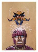 Little Wolverine Commission ECCE 2015 by joelduggan