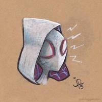 Quick Little Spider-Gwen by joelduggan