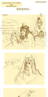 Alexander the Great - Sulking by Allysterio