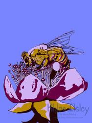 Five Color Bee by Kilsley