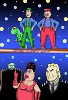 super Mario bros by sprucehammer