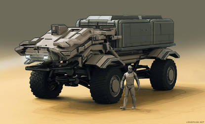 Drone truck by Long-Pham