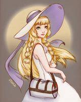 Pokemon Sun and Moon - Lillie by ohayorinka