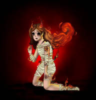 Fire Demon by DarkRema