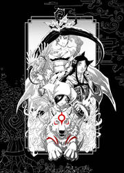 Okami - Celestial Manga Pen by Clockwork7