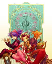 ImagineFX Muses by Clockwork7